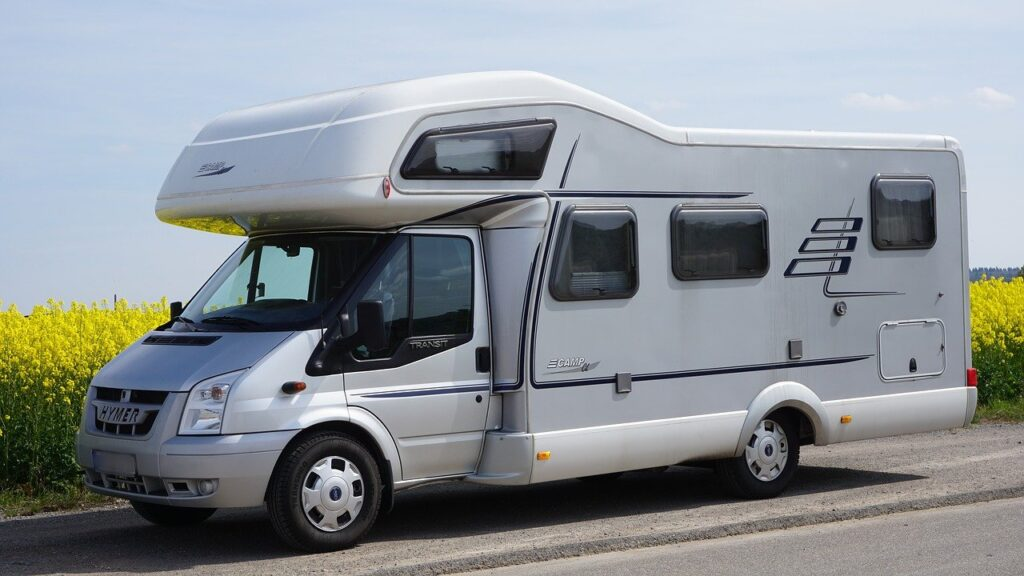 mobile home, hymer, camper