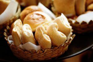baked, bread, rolls